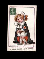 MILITARIA  - CROIX ROUGE - Guerre 14-18 - Carte Illustrée Par SPURGIN - Infirmière - Croix-Rouge