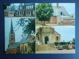 Normanville ( Près De Fauville-en-Caux ) , Son église , Sa Poste Et Son épicerie - Autres Communes