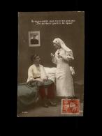 MILITARIA  - CROIX ROUGE - Guerre 14-18 - Infirmière - - Croix-Rouge