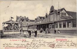 MIDDELKERKE   Le Kursaal Et La Dique - Middelkerke