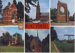 Rijkevorsel  Groeten Uit... Veelzicht  JvdB-kaart - Rijkevorsel