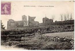 Boffres, L'église Et Ruines Féodales - France