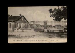 MILITARIA  - CROIX ROUGE - Guerre 14-18 - Hopital Temporaire - BEAUVAIS - Croix-Rouge