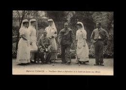 MILITARIA  - CROIX ROUGE - Infirmières De La Société De Secours Aux Blessés - Hôpital De TLEMCEN - ALGERIE - Tirailleurs - Croix-Rouge