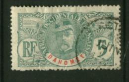 Dahomey  N° 21  Oblitéré  Cote Y & T  4,00 Euro Au Quart De Cote - Dahome (1899-1944)