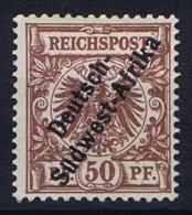 German Deutsch Sud West Afrika: Mi  II  MH/* 1897  CV  280
