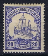 German Deutsch Sud West Afrika: Mi  14 MH/*