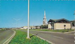 Church, Classic VW Beetle, RIMOUSKI, Quebec, Canada, 40-60's - Rimouski