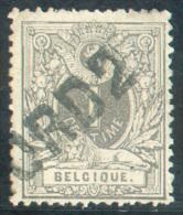N°43 - 1 Centime Gris Annulé Par La Griffe D'ambulant (spoorweg) NORD 2.  TB - 9584 - 1884-1891 Léopold II