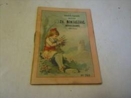 396 -  Calendrier De L'année 1892 , Librairie, Papeterie Montastruc, Boulogne, Haute Garonne - Calendriers