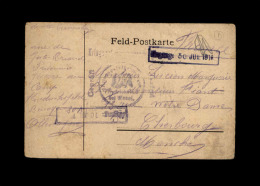 MILITARIA - FRANCHISE MILITAIRE - Carte Allemande - Lettere In Franchigia Militare