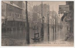 @ CPA INONDATIONS DE PARIS, CRUE DE LA SEINE, RUE DE LA CONVENTION, PARIS 75 - Inondations De 1910