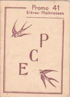 Rennes 35 Bretagne France Carte Ecole Guerre 1939 1945 Eleves Maitres Bac Résisitance ? 1941 Maitresses - Vieux Papiers