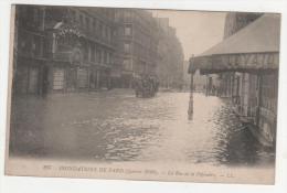@ CPA INONDATIONS DE PARIS, CRUE DE LA SEINE, LA RUE DE LA PEPINIERE, PARIS 75 - Inondations De 1910