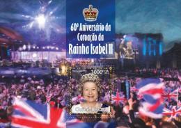 gb13316b Guinea Bissau 2013 Queen Elizabeth II s/s