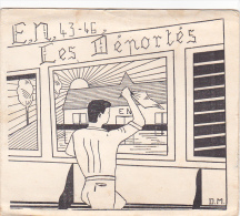 Rennes 35 Bretagne France Carte Ecole Guerre 1939 1945 Eleves Maitres Bac Résisitance ? 1943 46 Déportés Louvigné Bais - Vieux Papiers