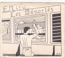 Rennes 35 Bretagne France Carte Ecole Guerre 1939 1945 Eleves Maitres Bac Résisitance ? 1943 46 Déportés Louvigné Bais