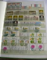 Dubletten-Album BRD Mi.-Nr 1053-1213 O, Nur Sondermarken! - Briefmarken