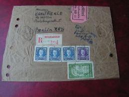 == Monaco Cv. Post ... Casino  1935 Nach Berlin - Poststempel