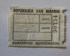 Billet Papier REPUBLICA SAN MARINO Col Schnabel - Bus