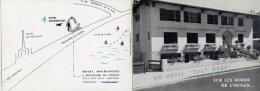 33-LA TESTE- PYLA-sur-MER-Hôtel Ahurentzat- Publicité- Scan Recto Et Verso - Francia