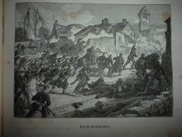 Bataille De Coulmiers , Gravure , Circa 1887 - Historical Documents