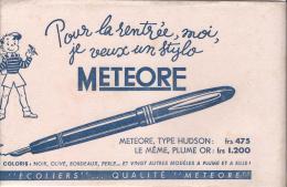 Stylo / METEORE/Pour La Rentrée.../ Vers 1945-1955         BUV71 - Stationeries (flat Articles)