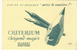 CRITERIUM/ Sergent-Major/ Gilbert- Blanzy-Poure/ Jacquelin / / Vers 1945-1955        BUV74 - Papeterie