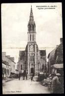 Cpa  Du 22   Brehand  église Paroissiale  ...    Moncontour   ROSC14 - Moncontour