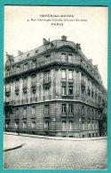 75 - IMPERIAL HOTEL 4 Rue Christophe Colomb (champs élysées PARIS - TB - 2 Scans - - Cafés, Hôtels, Restaurants
