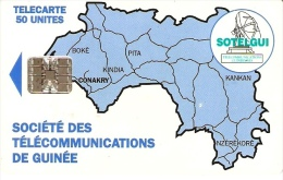 *GUINEA* - Scheda Usata - Guinee