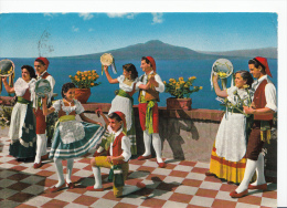 Italy Postcard - Napoli - Group Of Dancers     LC3013 - Dance