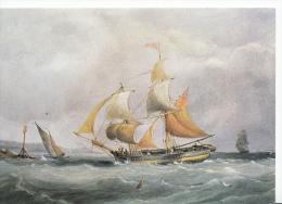 Shipping Postcard - A Trading Brig Entering Bristol Avon By Joseph Walter 1783-1856 -   LC2987 - Sailing Vessels