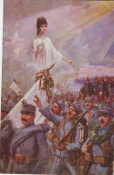 Military Non Mailed Postcard1914: WW1, Guardian Angel Of Austro-Hungarian Army Proud Of Its Sons - Guerre 1914-18