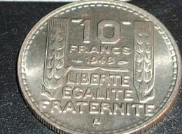 10 Francs Type  Turin Petite  Tête 1948 B - France
