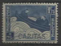 """Belgique - N183 - N°252**  """"Barquettes""""   Apostrophe Devant Le 1F75 - Curiosités"""