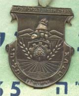 1965 ISRAEL MARCH HAPOEL PARTICIPANT CERTIFICATE+MEDAL - Athlétisme
