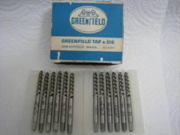 12 LIGHTNING HIGH SPEED GROUND THREAD TAPS GREENFIELD - Technical