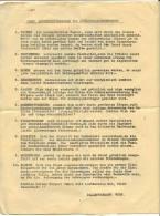 10 RULES FOR JEWISH PALESTINE IMMIGRANTS VIENNA AUSTRIA - Announcements