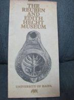 "\""""REUBEN & EDITH HECHT MUSEUM\"" UNIVERSITY OF HAIFA BOOK - Books, Magazines, Comics"