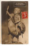 Edmond Rostand - Caricature par Bianco -