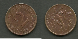 Estland Estonia Estonie 2 Senti Coin 1934 - Estland