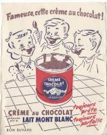 Crême Au Chocolat / Lait MONTBLANC/Vers 1945-1955      BUV84 - Produits Laitiers