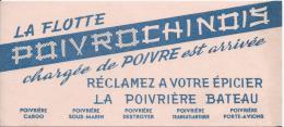 La Flotte Poivrochinois/Poivriére Bateau /Vers 1945-1955      BUV85 - Alimentaire
