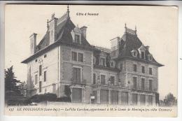 LE POULIGUEN 44 - La Villa Caroline Appartenant à M. Le Comte De Montaigu ( Ex Villa Crosnier ) CPA -  Loire Atlantique - Le Pouliguen