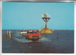 VOITURES DE TOURISME : Automobile OPEL En Bon Plan Central ( Le Passage Du Gois - Ile De Noirmoutier ) - CPSM GF  - - Passenger Cars