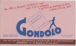 Biscuits GONDOLO/ Assimilatio/Suralimentati On/MAISONS-ALFORT/ Seine /Vers 1945-1955      BUV87 - Sucreries & Gâteaux