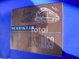 1959 MARKLIN TRAIN CATALOGUE - HO Scale