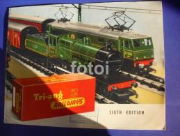 1960 MARKLIN TRAIN CATALOGUE - HO Scale