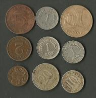 Estland Estonia Estonie Lot Of Old Coins 1922 - 1935 - Estland
